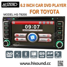 High quality 6.2inch touch screen gps bluetooth car radio corolla