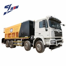 Asphalt slurry seal truck machine