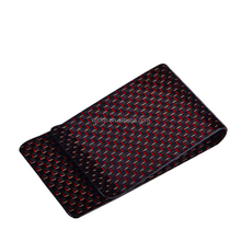 Free Sample Classical Carbon Fiber Money Clip Cash Wallet