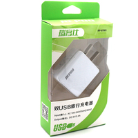 2016 Promotion Gift AU UK US EU Dual USB Travel Charger For iPad 5 Air/iPhone 6/Samsung S6
