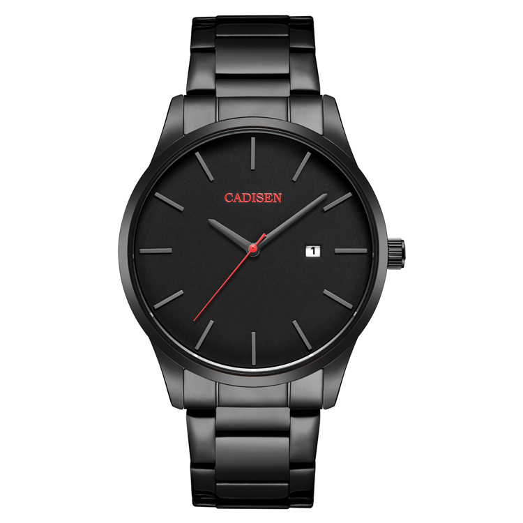CADISEN Top Luxury Brand Analog sports Wristwatch Display <strong>Date</strong> Men's Quartz Watches Business Men Watch relogio masculino