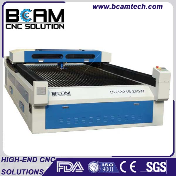 Blade table 8x4 ft working area co2 laser metal cutting machine