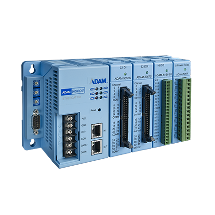 Advantech 4-slot Distributed High Speed I/O System for EtherCAT ADAM-5000/ECAT-AE importer
