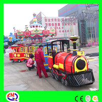 Trackless fun park electric train kids mall train