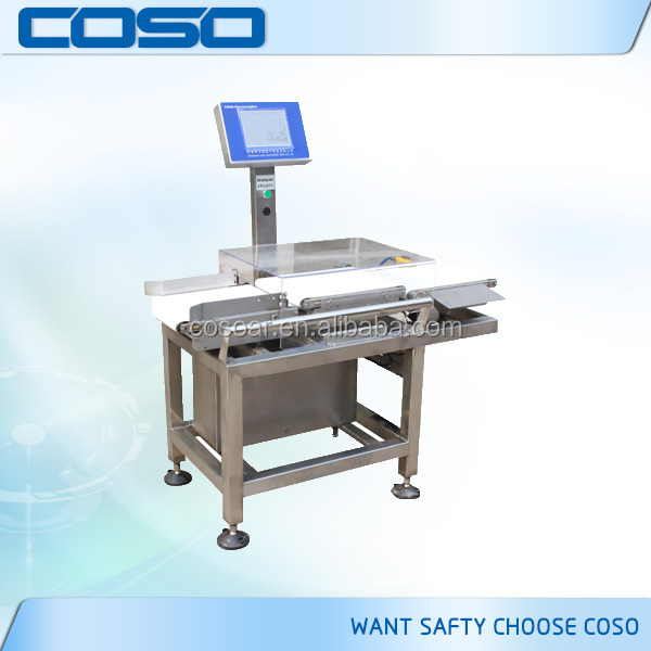 Conveyor Automatic Check Weigher with reject system manufacturer
