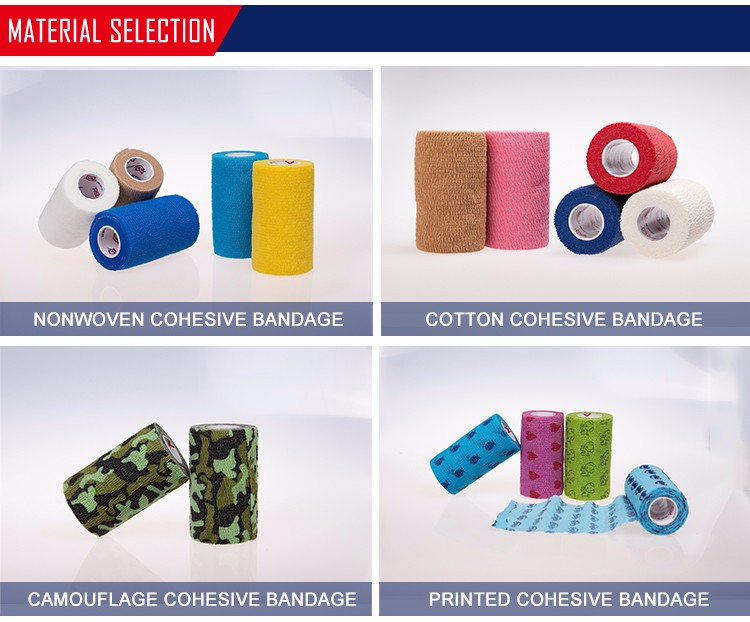 Lower Price Non Woven Elastic Cohesive Bandage