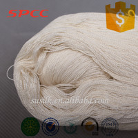 wholesale sock yarn spun silk 60nm/2 undyed on cone for knitting