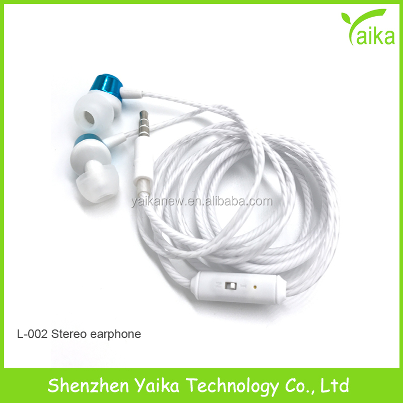 Yaika Universal 3.5mm Jack Noise Isolation Stereo Earphones with Remote and Mic
