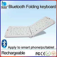 rechargeable bluetooth multimedia Wireless mini foldable keyboard