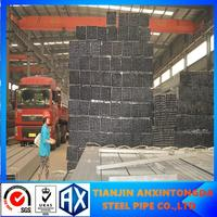 galvanizing pre galvanized steel pipe size welded square tubing