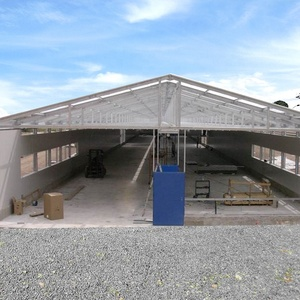 Chicken fabricated poultry farm structures house design
