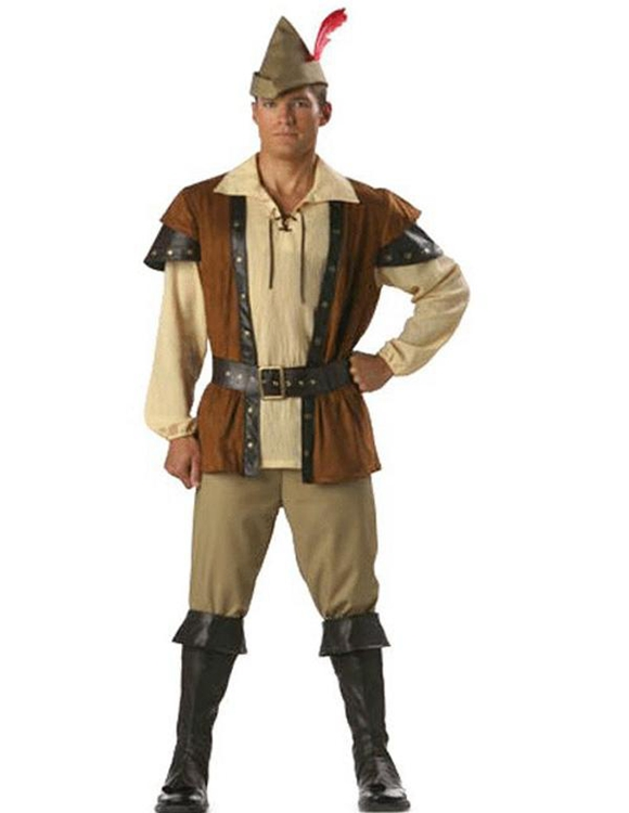 Wholesale Men Robin Hood Costume Renaissance