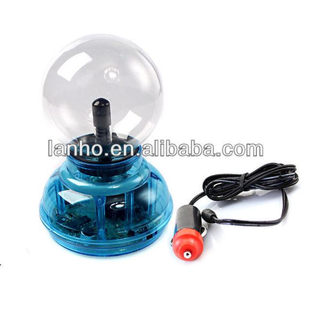 2014 new Magic Plasma Ball Crystal Neon Sphere Negative Ion Generator Car Interior Light