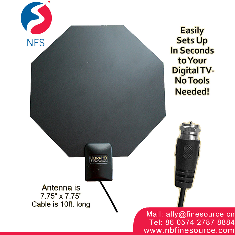 HD Clear Mini Portable Wholesale Wireless Indoor Digital Tv Antenna