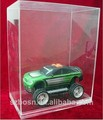 SGS approved transparent professional acrylic model car display case with model car display case for sale