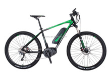 Fyrlyt electric bike with pedals and bicycle electric motor for easily running