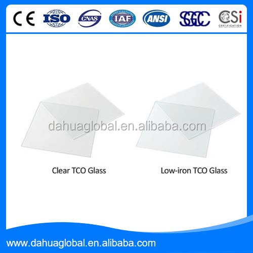 Different kinds of TCO Coated Glass for buildings