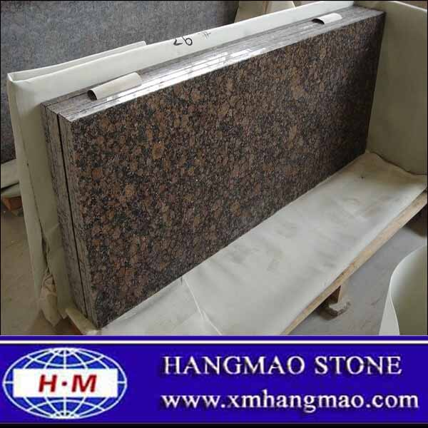 Polished Fantasy Brown Granite
