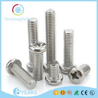 Online Shopping Stainless Steel 304 Price Round Head Cap Screw,Cross Recessed Pan Head Machine Screw