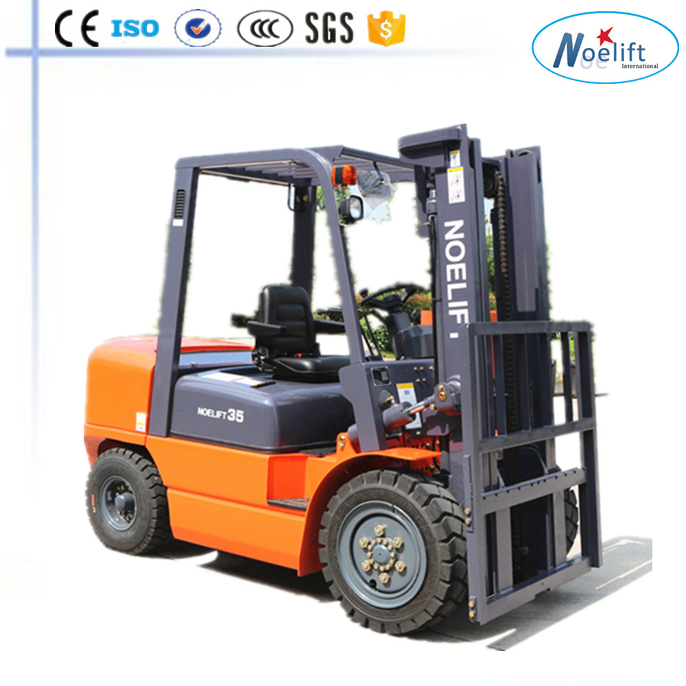 boom lift 3-3.5T 3-6M dual air cleaner diesel forklift/truck