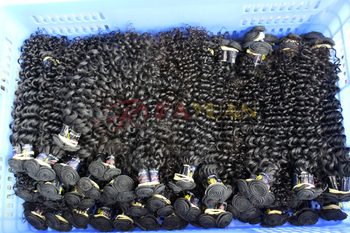 The most most popular best selling Peruvian Black Hair Extension for black