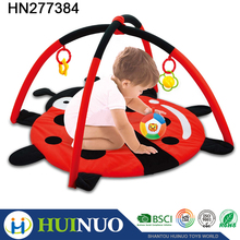 Funny infant plat mat baby activity mat with rattle toys HN277384