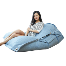 LUCKYSAC Indoor/Outdoor Lounger inflatable bean bag chair