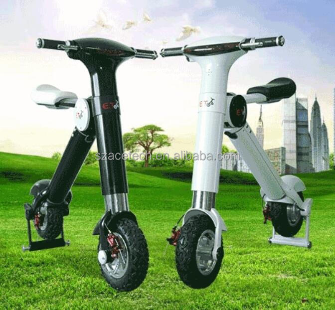 2016 Portable two wheel self balancing mini Electric scooter with approved CE,ROHS,FCC