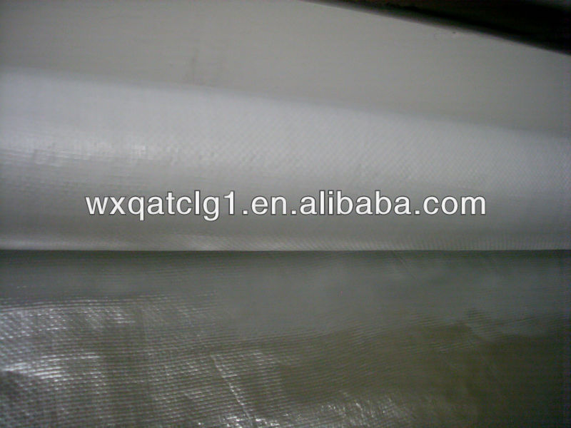 piece aluminum film laminated single sides pp/pe fabric