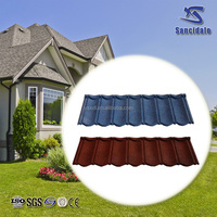 0.40mm Metal roof tile Milano tile, Stone Coated decorative metal roofs