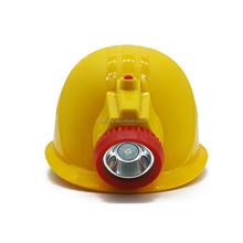 2.5AH rechargeable mining integrated safety helmet lamp LED cap lighting
