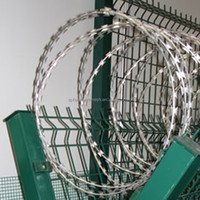 Concertina razor barbed wire, ISO certificated professional factory