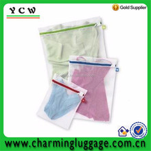 China made high quality ployester mesh bag laundry / mesh washing bag / net washing bag