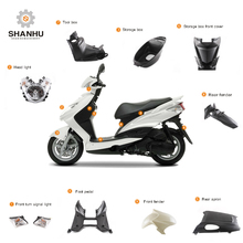 Zhejiang taiwan shanghai vietnam cnc scooter gy6 plastic body parts for mini 49cc motorcycle