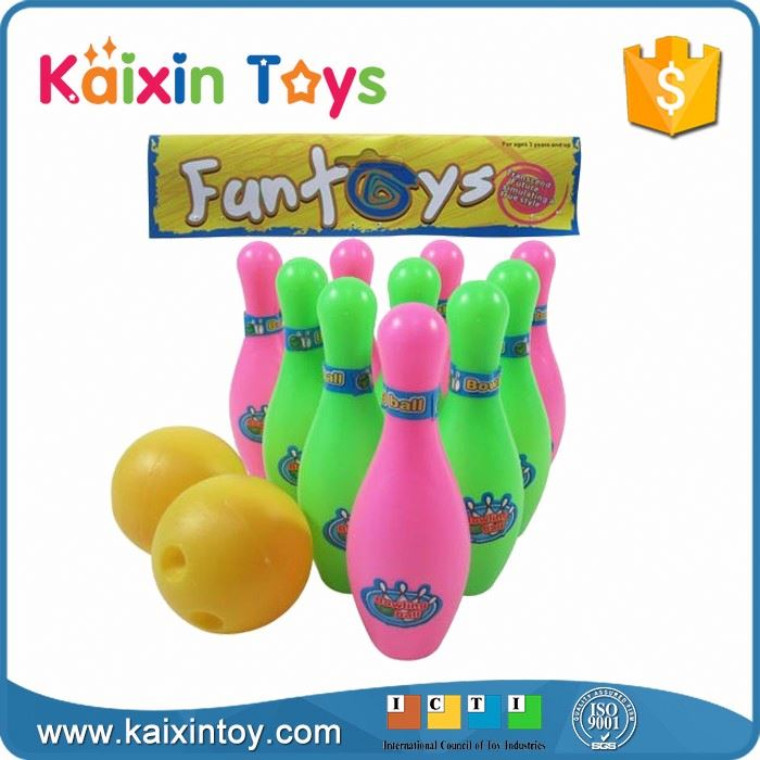 10252009 Kids Funny Indoor Bowling Pin Games