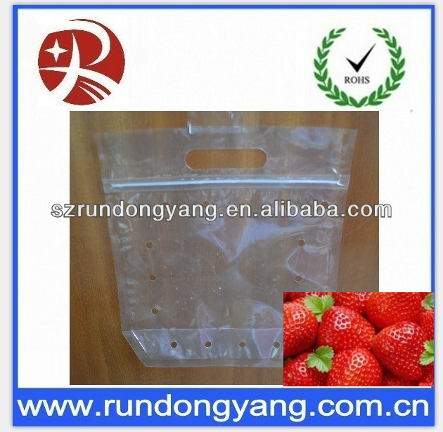 fruit harvest bags with hole for fresh fruit hot sale