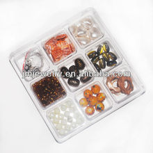 cheap amber jewelry making craft bead kit chunky beads set for to make jewelry diy bead craft kit