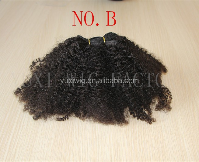 REAL HUMAN HAIR AFRO KINKY WEFT - SOUTH AMERICA HAIR EXTENSIONS - GOOD QUALITY HAIR