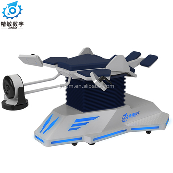 9D VR motion simulator coin pusher game machine birdy fly game machine wingsuit simulator for sale