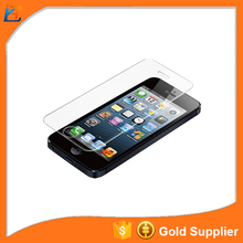 2016 hot sale cover transparent glass cover for iphone5 screen protector