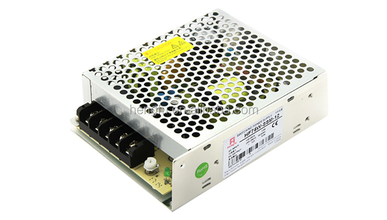 Hengfu power supply HF75W-SSM-12 single output miniature switching power supply with CE approval
