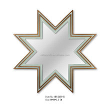 Star shaped wall mirror for home/hotel decor