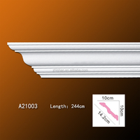Excellent Building Material PU Decorative Moulding Cornice