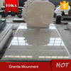 Chinese cheap granite G664 grave monument slab