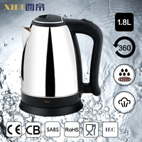 Customized Available mini cordless travel electric kettle