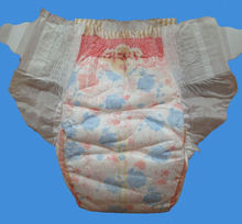 new printed cute more absorbent disposable diapers wholesale