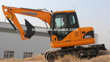 mini crawler excavators good prices 0.3cbm 8 ton china digger hydraulic pilot control steel /rubber track