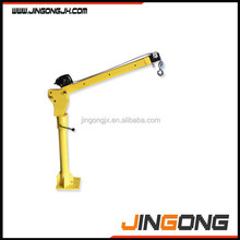 HP1000 12V DC Pick Up Portable Mini electric hoist winch truck lift crane