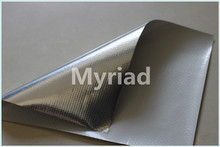 Aluminum foil coated PE woven fabric for building material,pipe coating