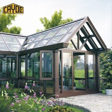 Chinese Factory Thermal-Break Aluminum Sun House/Aluminum Sunroom and Glass Room